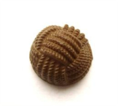 B15697 17mm Moss Khaki Textured Domed Shank Button - Ribbonmoon