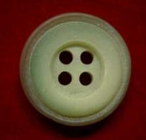 B4327 19mm Mist Hush Green Iced Matt 4 Hole Button - Ribbonmoon