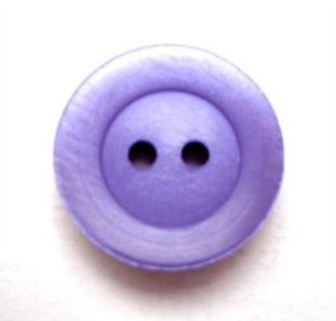 B10071 18mm Blue Lupin Shimmery 2 Hole Button