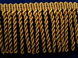 FT1983 58mm Old Gold Bullion Fringe - Ribbonmoon