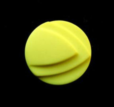 B8130 17mm Fluorescent Yellow Matt Shank Button - Ribbonmoon