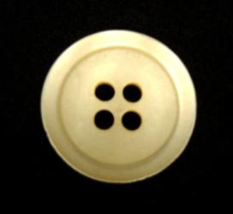 B15916 17mm Antique Cream Pealised Shimmery 4 Hole Button - Ribbonmoon