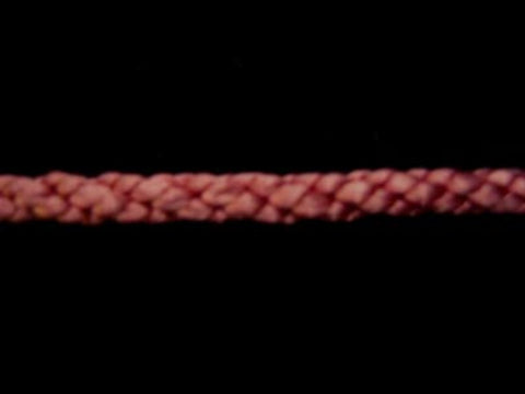C413 4mm Lacing Cord by British Trimmings, Dusky Pink 333 - Ribbonmoon