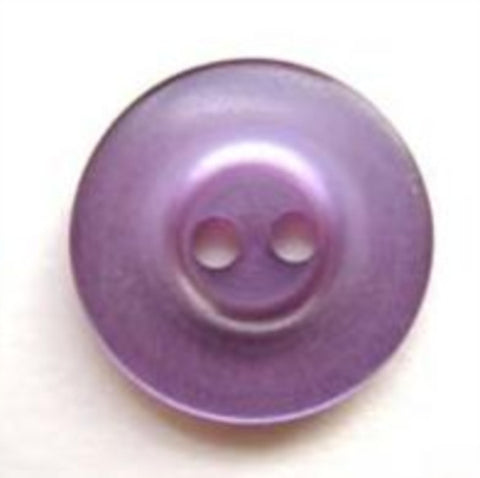 B5596 16mm Pale Violet Pearlised 2 Hole Button - Ribbonmoon
