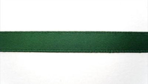 R5459 7mm Holly Green Single Face Satin Ribbon - Ribbonmoon