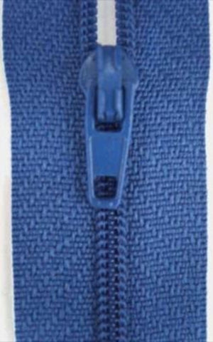 Z3132C 18cm Tufts Blue Nylon No.3 Closed End Zips - Ribbonmoon