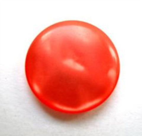 B12498 18mm Tonal Orange Shimmery Polyester Shank Button - Ribbonmoon