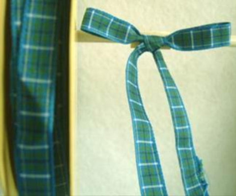 R5069 11mm Douglas Tartan Polyester Ribbon - Ribbonmoon