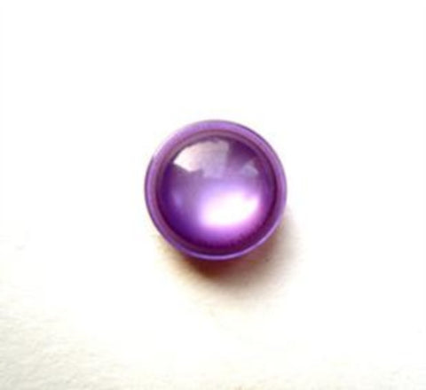 B12414 11mm Puprle Tinted Polyester Shank Button - Ribbonmoon