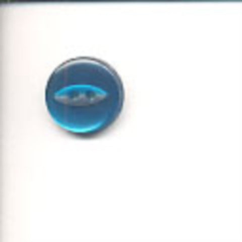 B10602 14mm Kingfisher 2 Hole Polyester Fish Eye Button - Ribbonmoon