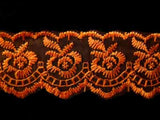 L454 44mm Orange Flat Lace - Ribbonmoon