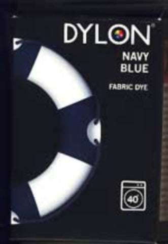 FABMACHDYE08 Navy Dylon Machine Fabric Dye, 200 Gram Pack - Ribbonmoon