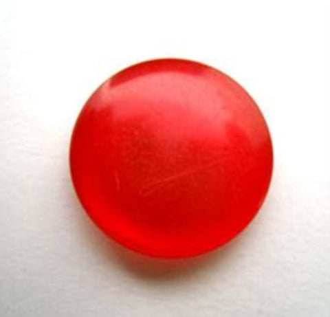 B14136 18mm Red Polyester Shank Button - Ribbonmoon