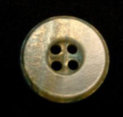B10550 19mm Marble Effect 4 Hole Button with an Iridescence - Ribbonmoon