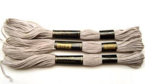 S672 8 Metre Skein Cotton Embroidery Thread, 6 Strand Colourfast - Ribbonmoon