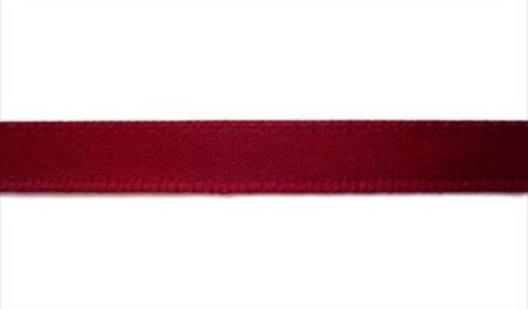 R5983 7mm Burgundy Double Face Satin Ribbon