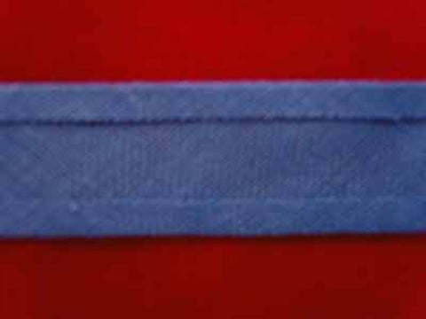 BB156 12mm Deep Wedgewood Blue 100% Cotton Bias Binding - Ribbonmoon