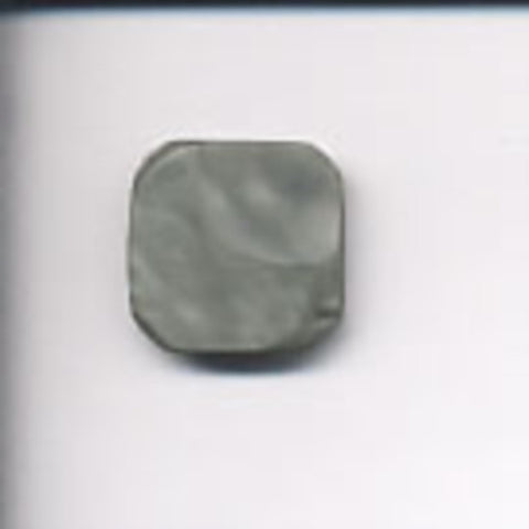 B6020 18mm Shimmery Tonal Grey Button, Hole Built into the Back - Ribbonmoon
