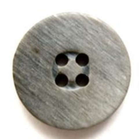 B6921 18mm Mixed Greys Matt 4 Hole Button - Ribbonmoon