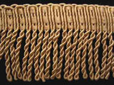 FT074 64mm Honey Beige Bullion Fringe - Ribbonmoon