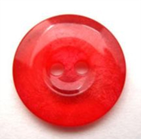 B14005 20mm Red and Pink Tonal Shimmer 2 Hole Button - Ribbonmoon