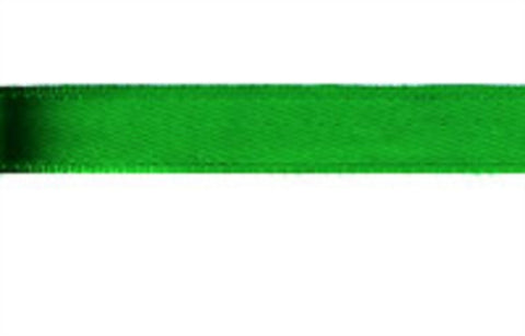 R5752C 12mm Deep Emerald Green Single Sided Satin Ribbon - Ribbonmoon