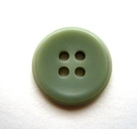 B11334 17mm Pale Petrol Green 4 Hole Button - Ribbonmoon