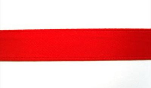 R4857 10mm Red Budget Single Face Satin Ribbon - Ribbonmoon
