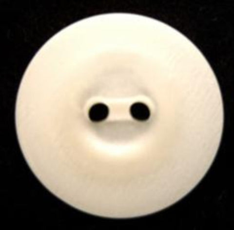 B6697 20mm Bridal White Pearlised 2 Hole Button - Ribbonmoon