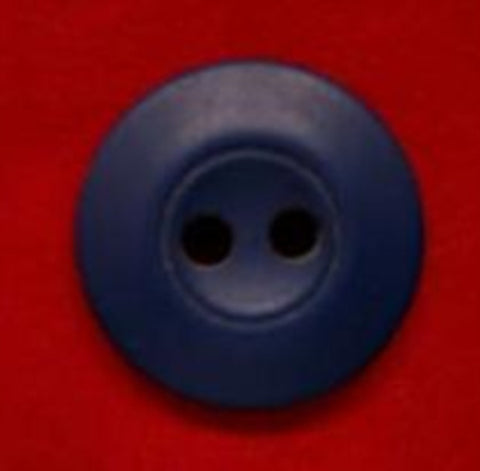 B4302 15mm Pale Navy Soft Sheen 2 Hole Button - Ribbonmoon