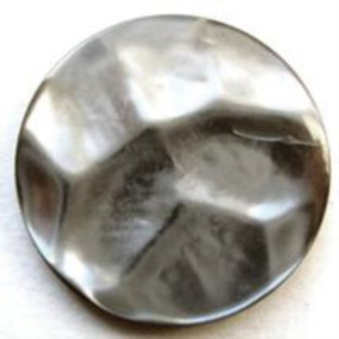 B8439 23mm Tonal Greys Pearlised Polyester Shank Button - Ribbonmoon