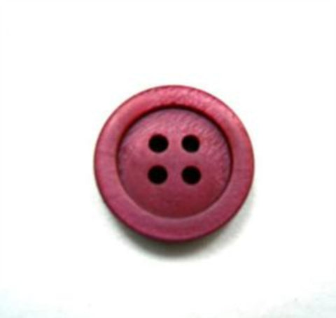 B16244 14mm Pale Wine Shimmery 4 Hole Button - Ribbonmoon