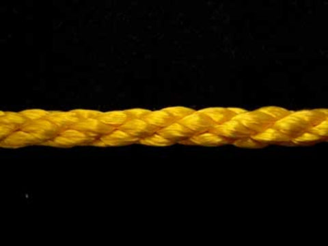 C300 6mm Crepe Cord by British Trimmings, Gold Yellow 5102 - Ribbonmoon