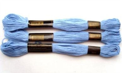 S302 8 Metre Skein Cotton Embroidery Thread, 6 Strand Colourfast - Ribbonmoon