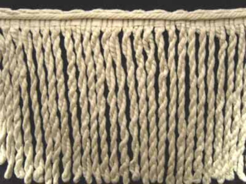 FT490 185mm Natural Bullion Fringe - Ribbonmoon