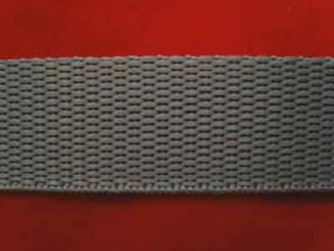 WEB39 20mm Grey Polypropylene Webbing - Ribbonmoon