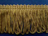 FT1473 38mm Golden Olive Dense Looped Dress Fringe - Ribbonmoon