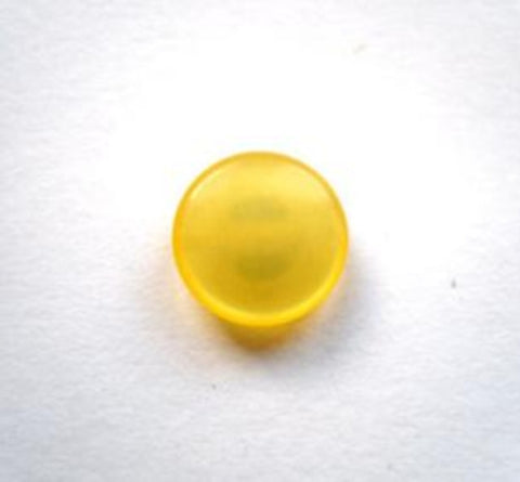 B12184 11mm Yellow Polyester Shank Button - Ribbonmoon