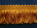 FT1177 38mm Burnt Gold Dense Looped Dress Fringe - Ribbonmoon