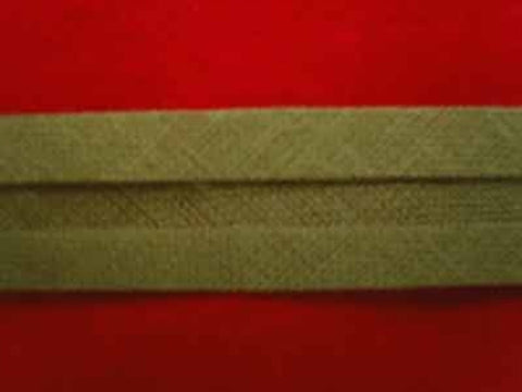 BB203 13mm Army Green 100% Cotton Bias Binding - Ribbonmoon