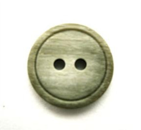 B13533 17mm Frosted Chive Soft Sheen 2 Hole Button - Ribbonmoon