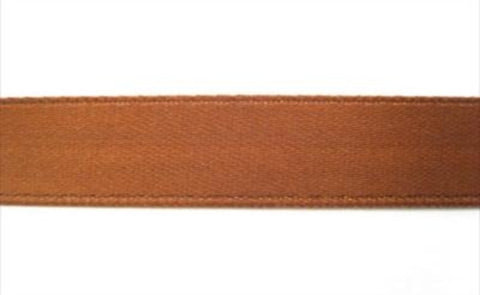 R2616 10mm Brown Single Faced Satin Ribbon by Offray - Ribbonmoon