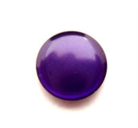 B16541 16mm Liberty Purple Pearlised Polyester Shank Button - Ribbonmoon