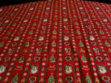 FABRIC49 115cm Cotton Fabric with a Christmas Themed Design