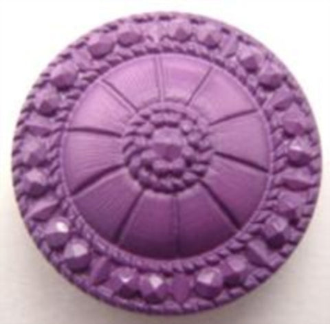 B15567 23mm Lavender Textured Shank Button - Ribbonmoon