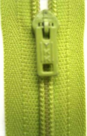 Z3406 YKK 56cm Spring Green Nylon Pin Lock No.3 Closed End Zip - Ribbonmoon