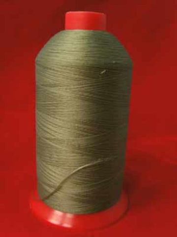 ST75 Linden Green 80's Bulk Polyester Overlocking Thread Cone