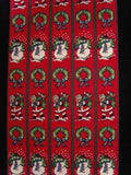 FABRIC19 15cm Cotton Fabric with a Christmas Design