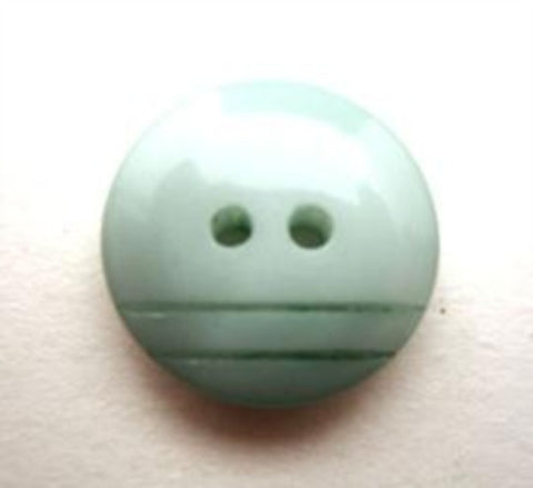 B13448 17mm Tonal Aqua Gloss 2 Hole Button - Ribbonmoon