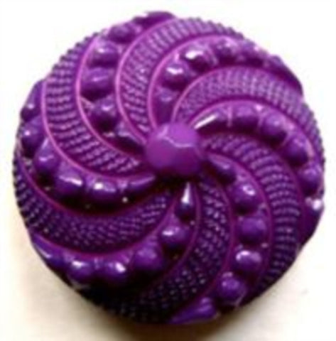 B12591 22mm Purple and Pink Textured Shank Button - Ribbonmoon